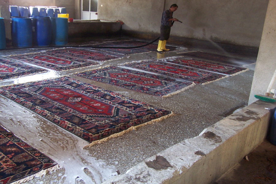Persian Carpets Cleaning