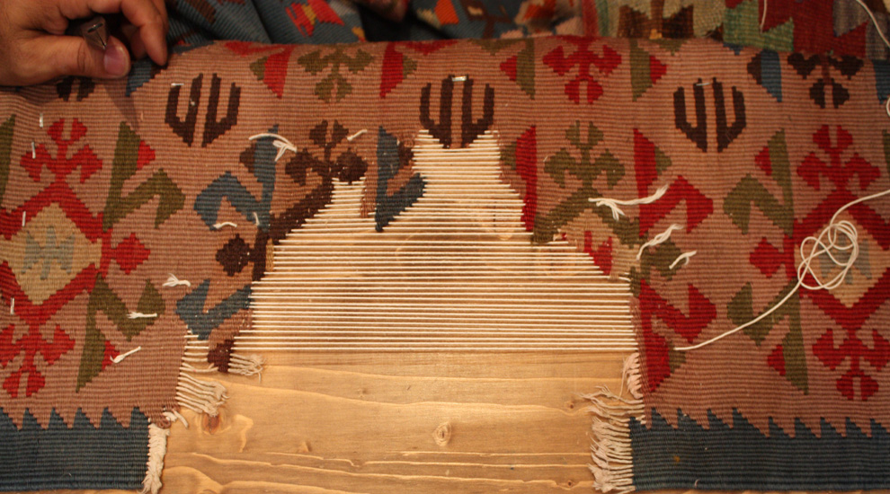 before-kilim-repair